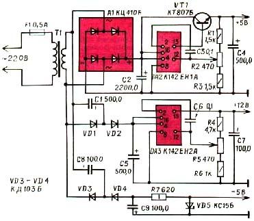 схема инвертора fubaq in 160